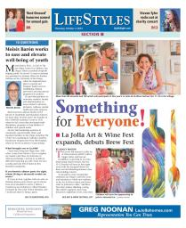 La Jolla Art & Wine Festival | October 2014