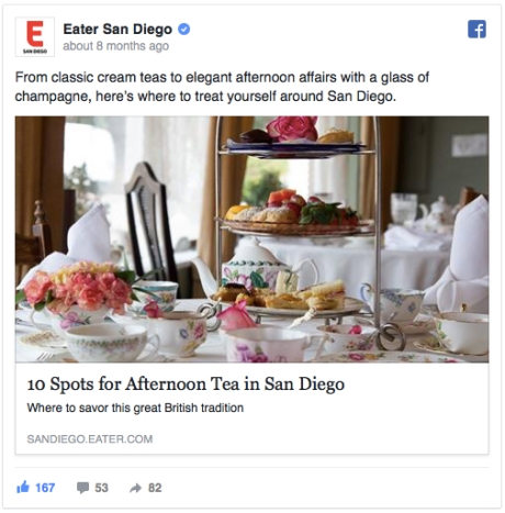 Eater FB Afternoon Tea Heatmap